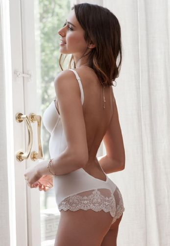 Backless Bridal Body (Ivory)